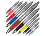 Kugelschreiber mit satiniertem Gehäuse
